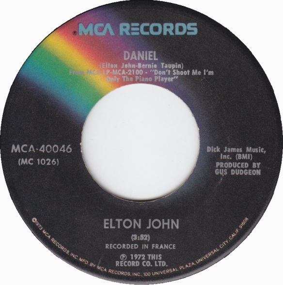 Elton John's Daniel