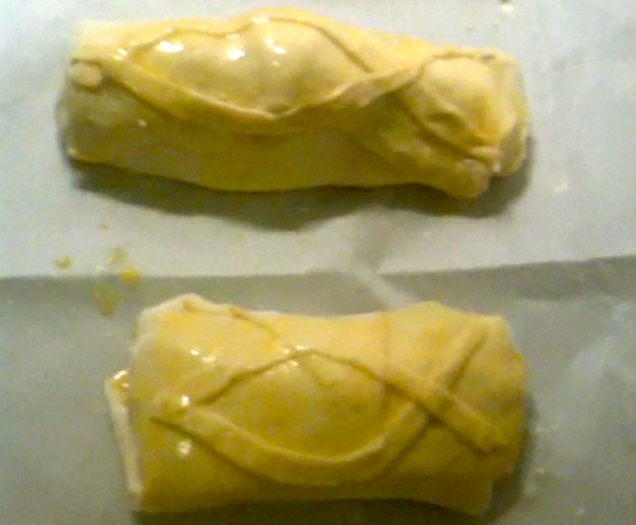 Salmon Wellington Ready for the Oven