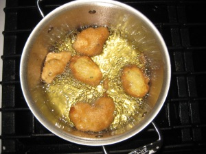 Tilapia Fillets in Egg Batter Fry