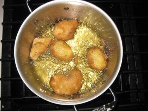 Tilapia Fillets in Egg Batter Fry