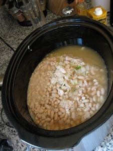Slow Cooker Crock Pot White Chili