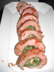 Braciole Spinach Mushroom Stuffed Flank Steak Whole Foods