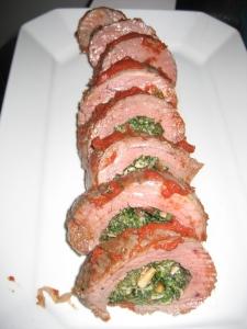 Braciole Spinach Mushroom Stuffed Flank Steak Whole Foods