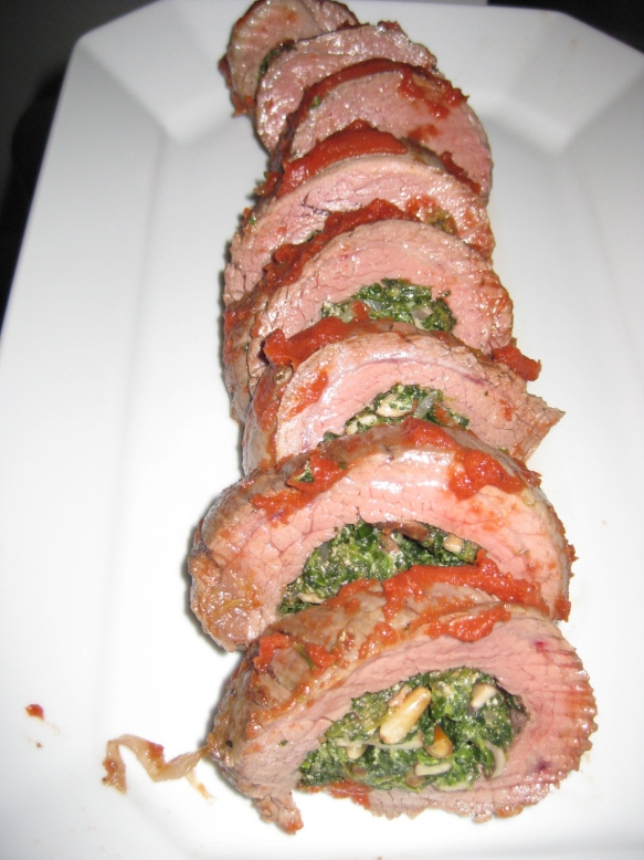 braciole flank steak