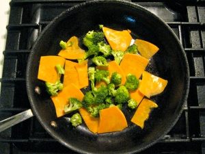 Sweet Potatoes and Broccoli