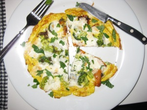 Breakfast Frittata for two