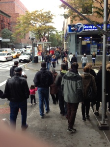 Crowded Streets nyc uws abc7