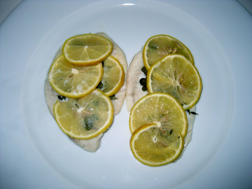 whole foods frozen tilapia fish en papillote dinner recipe lo-cal vegetarian pescatarian