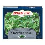 birdseye frozen spinach
