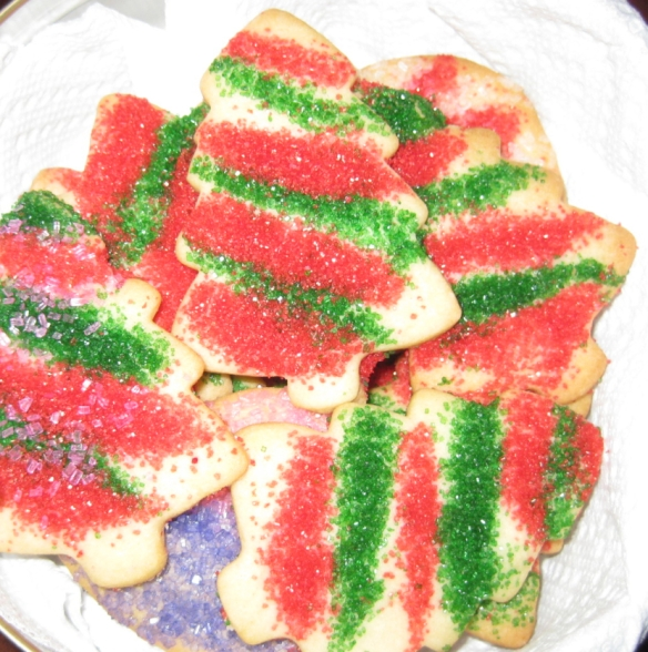 mom's christmas cookies