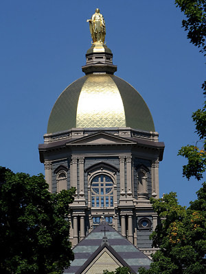 golden dome notre dame