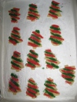 christmas cookies cut out