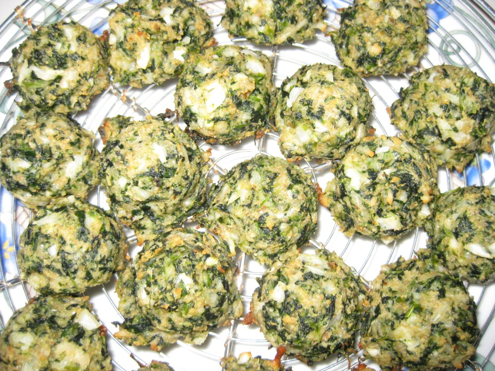 birdseye frozen chopped spinach party poppers