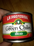 mild green chiles la preferida