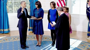Barack Obama Swearing In inauguration