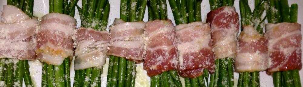 french green beans bacon evoo
