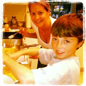 chicken milanese teflon pans