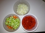 mise en place vegetables
