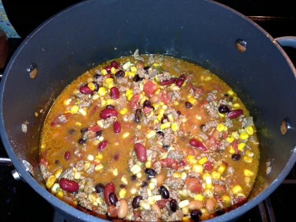 Taco Soup recipe el paso seasoning