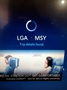 lga delta direct to msy flying new orleans