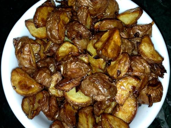 roasted potatoes lipton soup side dish vegetarian