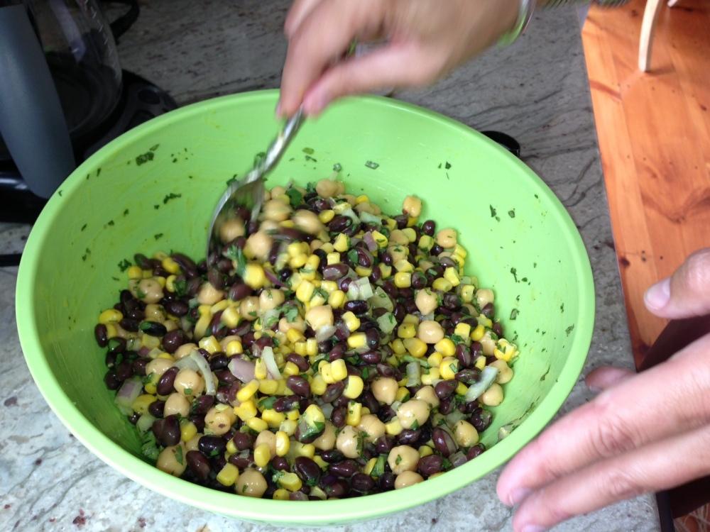 bean dip vegetaran cold dips