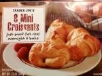 trader joe's frozen croissants cronuts