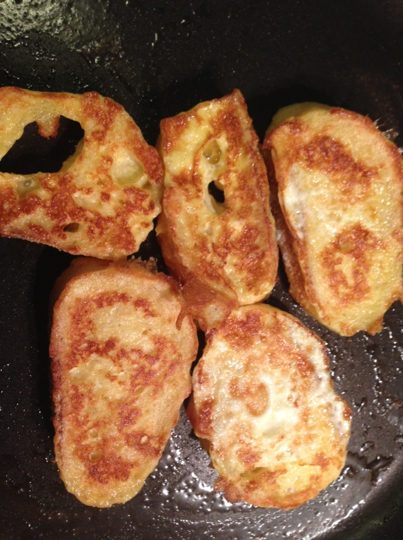 french toast breakfast browned