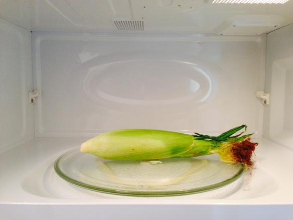 corn, microwave
