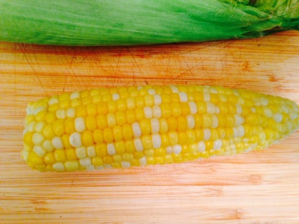 corn, vegetables