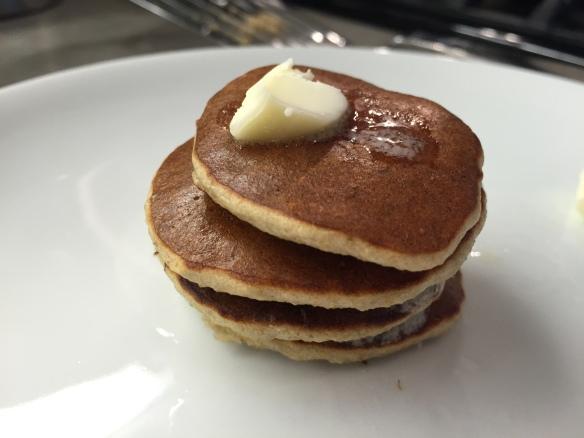oatmeal banana pancakes, healthy pancakes
