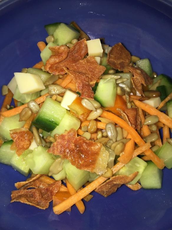 chop salad, no lettuce
