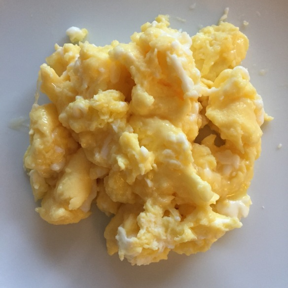 scrambled eggs, perfect scrambled eggs